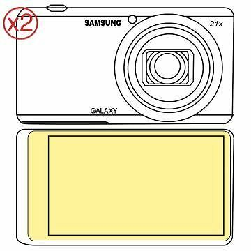 Martin Fields Overlay Plus Screen Protector (Samsung Galaxy Camera 2) Twin Pack