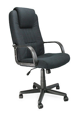 Bravo High Back Executive Office Chair by Eliza Tinsley