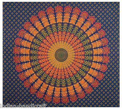 10 Double Mandala Tapestry Wall Hanging Throw Cotton Bedding Wholesale TD6