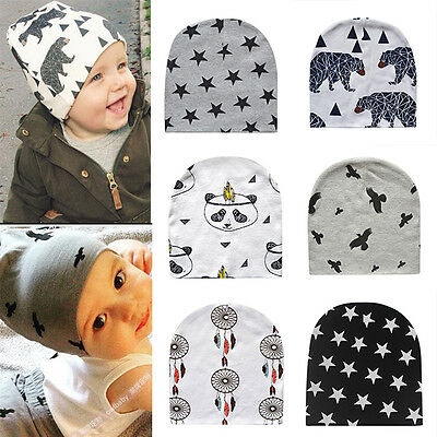 Baby NewbornInfant Kids Boy Girl Warm Winter Soft Cotton Hat Cap Beanie New