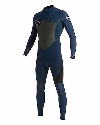 NEW QUIKSILVER™  Mens Syncro 4/3MM LFS Steamer Wetsuit Surf