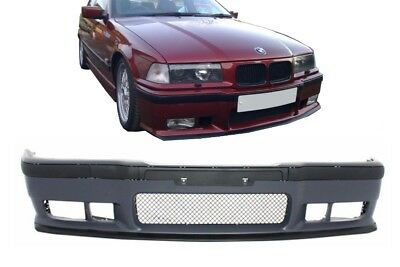 BMW 3er E36 Stoßstange M3 Look Coupe Cabrio Limousine Touring Compact +EVO Lippe