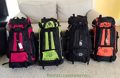 Outdoor Camping Backpack Travel mountain climbing package Waterproof 70L