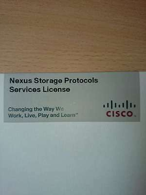 Cisco Nexus Storage Protocols Services License P/N N55-LAN1K9