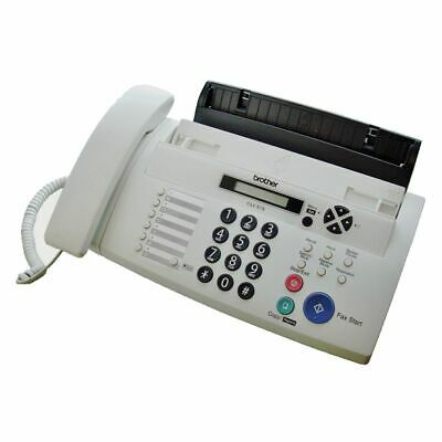 NEW Brother Fax Machine Plain Paper Fax FAX-878 Fax Machines Phone Fax