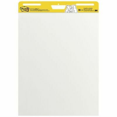 NEW 3M Post-it Easel Pad White 635 x 775mm