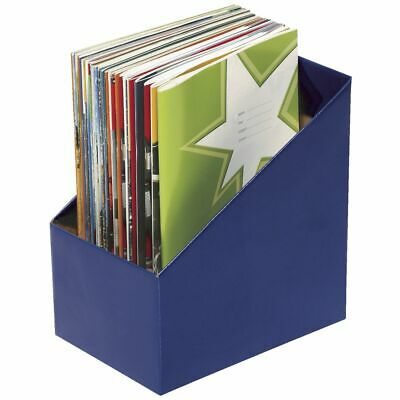 Marbig Book Box Large Blue 5 Pack