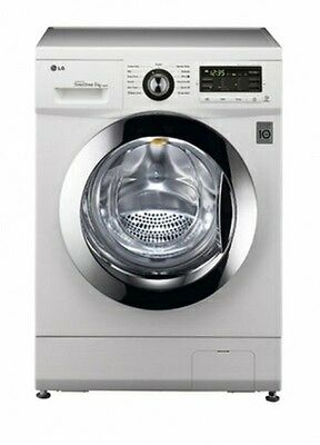 LG Direct Drive 8kg 1400rpm White Freestanding Washing Machine A+++