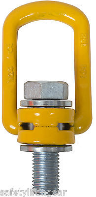 Grade 100 Swivel Lifting Load Ring Sizes From M8-M36 Available Fully Certified
