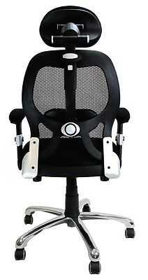 Ergo Luxury Mesh Back Executive Office Chair by Eliza Tinsley