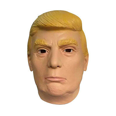 Latex Costume Halloween Mask Presidential Candidate Donald Trump Masquerade Mask