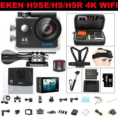 Ultra HD 4K 1080P WIFI Sport Action Camera EKEN H9/H9R Waterporoof DVR Camcorder