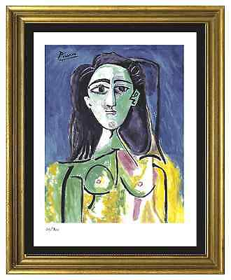 "Pablo Picasso Signed/Hand-Numbered Ltd Ed ""Jacqueline""  Litho Print (unframed)"