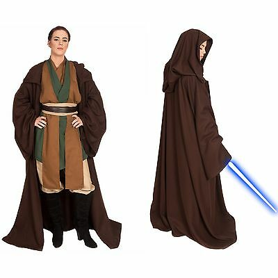 Jedi Knight Custom Cosplay Sith Halloween Costume Mara Jade Padawan Robe Tunic