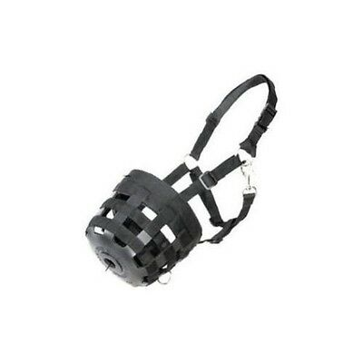 Best Friend Deluxe Grazing Muzzle w/ Halter - BLACK - ALL SIZES IN STOCK