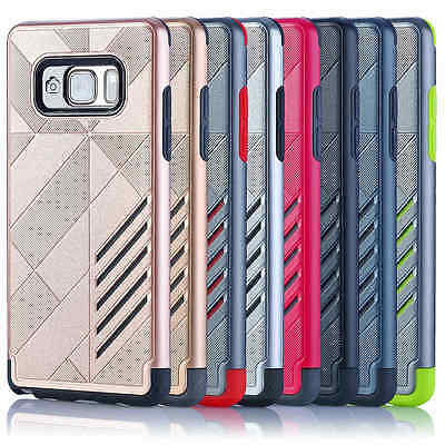 For Samsung Galaxy S7 / Note 7 Cover Case Shockproof Hybrid Rugged Rubber Hard