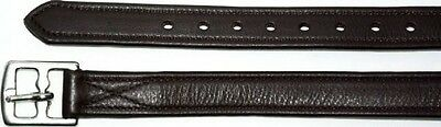 Passier Lined English Stirrup Leathers - Black - ALL Sizes in stock