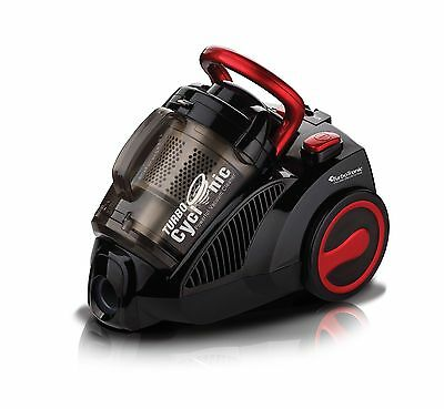TurboCyclonic 1400W 3L Compact Bagless Cylinder Vacuum Cleaner Hoover BLACK