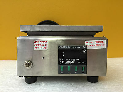 "Barnstead / Thermolyne HPA1915B, 6""x6"", 371° C Hot Plate w/ Omega CN9000, Tested"