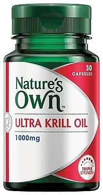 Nature's Own Ultra Krill Oil 1000Mg 30 Caps 1 Daily, Osteoarthritis, Joint & Hea