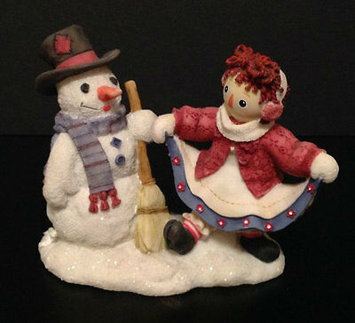 Enesco Raggedy Ann & Andy Friends Forever No Matter The Weather 709042