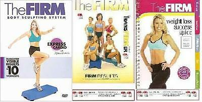 The Firm The Body Sculpting System EXPRESS CARIDO +FREE Health & Fitness Bonuses
