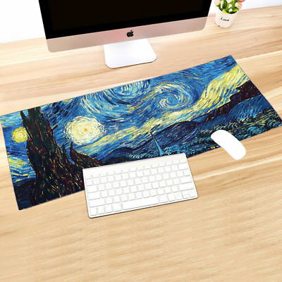 Gaming Mouse Pad Desk Mat Extended Anti-slip Rubber Speed Large Size Mousepad