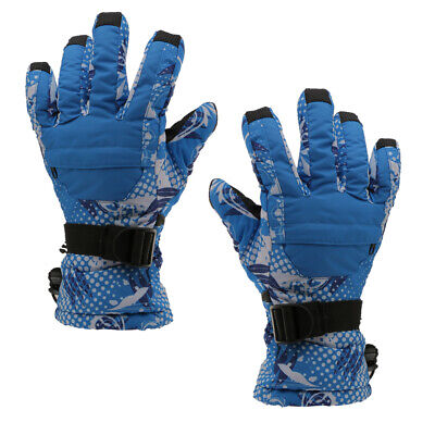 Women Men Winter Ski Snowboard Snow Sports Thermal Warm Gloves Mitts Waterproof