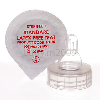 STERIFEED DISPOSABLE STANDARD LATEX FREE TEAT x 20