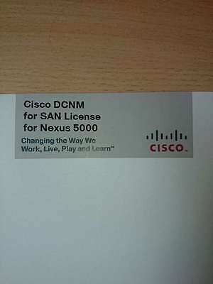 Cisco DCNM for San License for Nexus 5000 DCNM-SAN-N5K-K9
