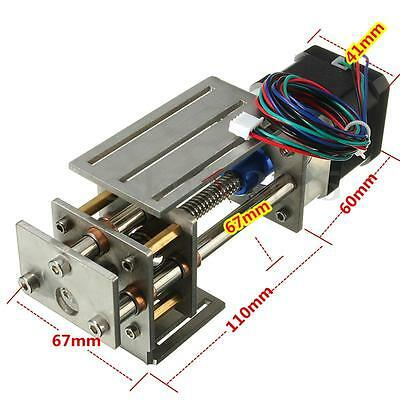 Z Axis Slide 60MM Linear Motion DIY 3 Axis CNC Router Engraving Milling Machine