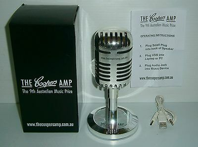Coopers Beer new boxed speaker microphone amp with leads for home bar collector