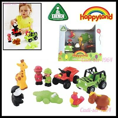 Early Learning Centre HappyLand Safari Adventure Playset Boys and Girls ELC Toy