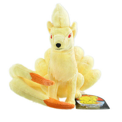 Pokemon Aller Poche Monsters Ninetales Peluche Rembourré Animal Poupée 9