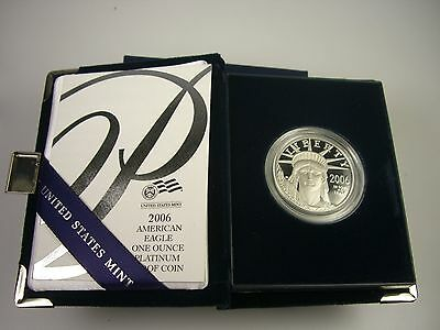 2006-W American Eagle One Ounce Platinum Coin Sealed