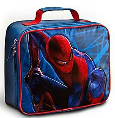 Disney Store Marvel Spiderman Insulated Lunch Bag NEW