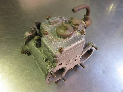 Weber 40 Dcoe 126 Twin Carb/carburettor - Original Condition & In Working Order