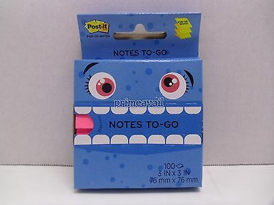 POST-IT POP-UP NOTES 100 SHEETS 3 IN x 3 IN *NEW*