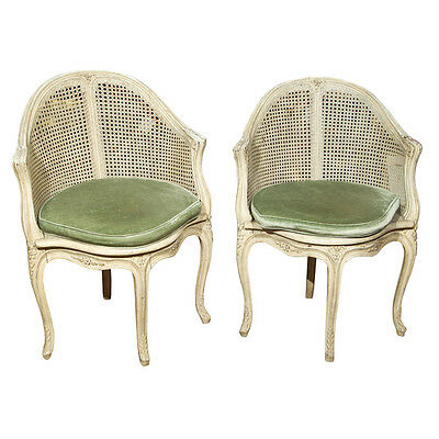 Pair of French Corner Chairs by Maison Jansen 102-6295