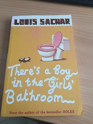 There 39 s a boy in the girls 39 bathroom by louis sachar paperback 2007 picclick uk for The boy in the girls bathroom