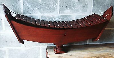 """Thailand 21 Keys Xylophone musical instrument - Quality Wood Sound - 46"""" Long"""