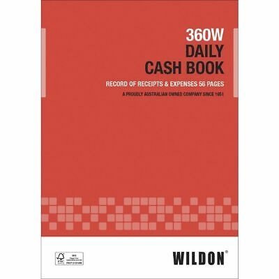 Wildon 360W Daily Cash Book