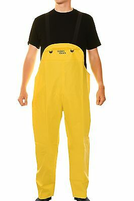 Guides Choice Mid Weight Waterproof Commercial Raingear Bib Overalls PVC Fishing