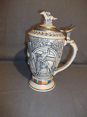 Avon Winner's Circle Stein 1992 Handcrafted Numbered NM