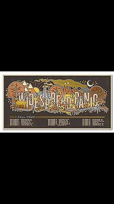 Widespread Panic Coney Island Fall Tour Dc Poster Print Welker Half Washington