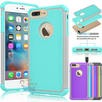 2016 Hybrid Shockproof Armor Impact Hard Case Cover for iPhone 7 / iphone 7 Plus