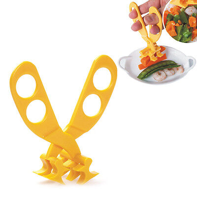 Kid Baby Toddlers Portable Scissors Feeding Food Shears Cut Crush food Safe Care