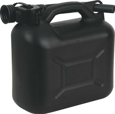 Sealey Fuel Can 5ltr - Black