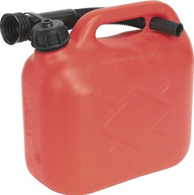 Sealey Fuel Can 5ltr - Red