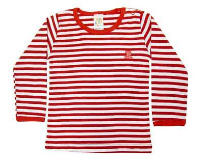 Infant Toddler Unisex Striped Tee Long Sleeve Shirt Boys/Girls 1-3Y Pulla Bulla